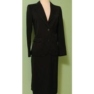 Vintage 70s Ted Lapidus Wool Skirt Suit